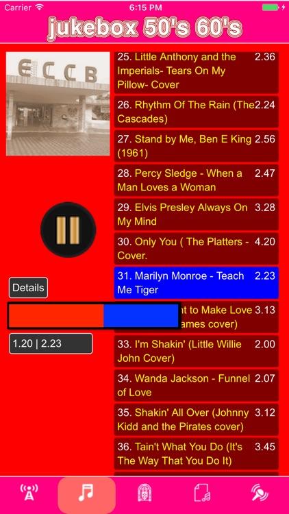 jukebox 50's & 60's screenshot-3