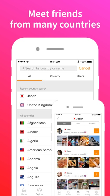 Airtripp - Meet global friends