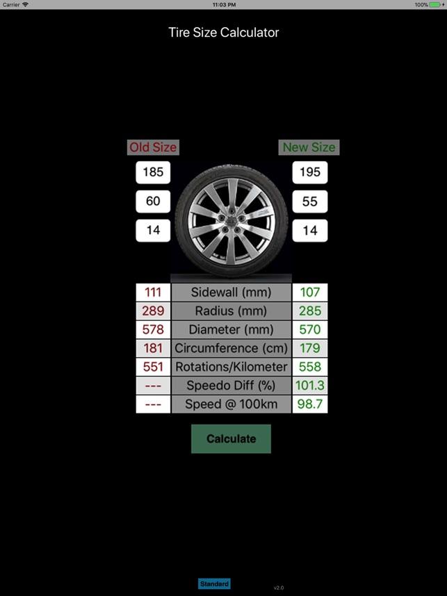 Tire Calculator