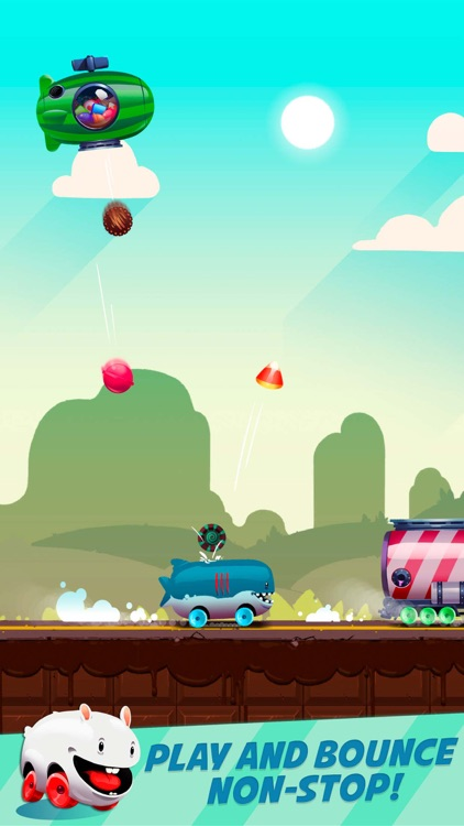 Candy Bounce: The Sweet Road