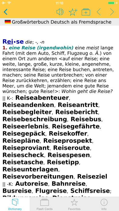 German Learners Dictionary review screenshots