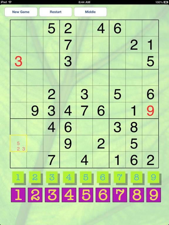 Popular Sudoku Screenshots