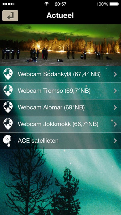 NoorderlichtApp screenshot four