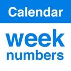 Kalender Wochen Numme KWs icon