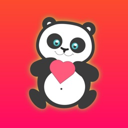 Cute Panda - Text Chat Funny Emoji Stickers Pack