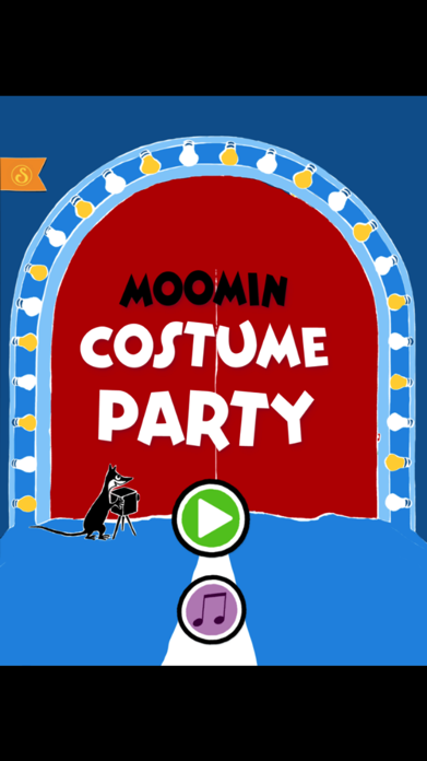 Moomin Costume Party Screenshot