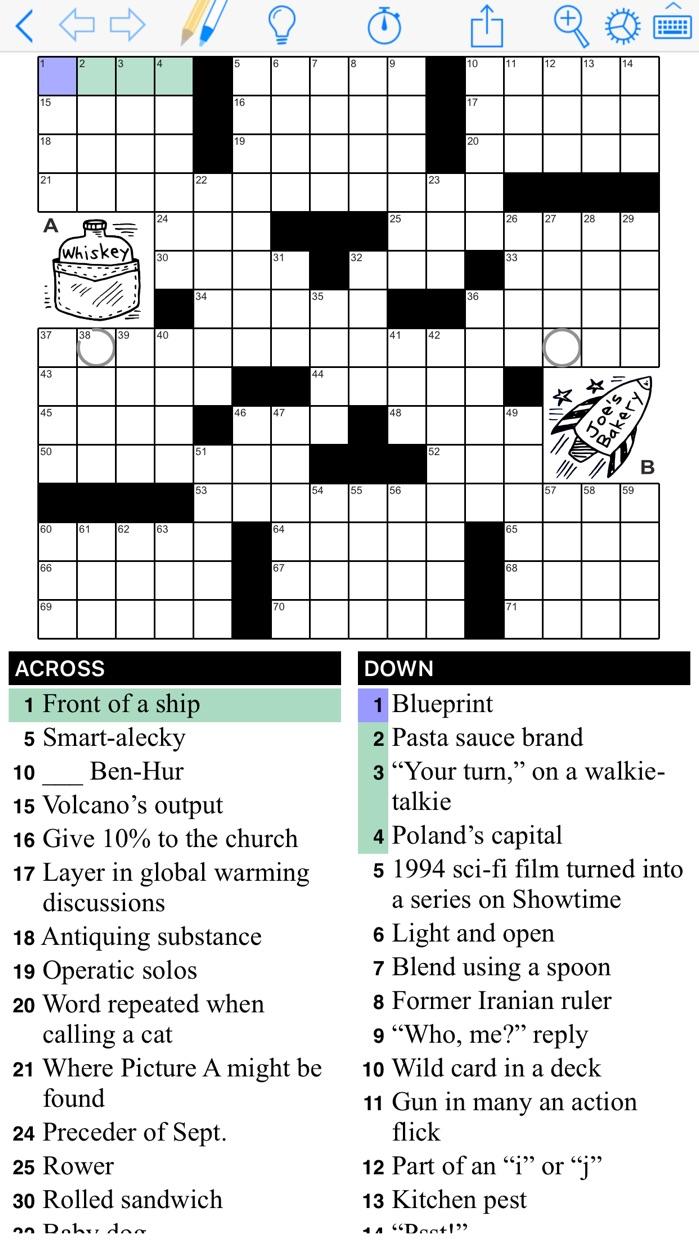 Puzzazz Crossword & Puzzle Screenshot