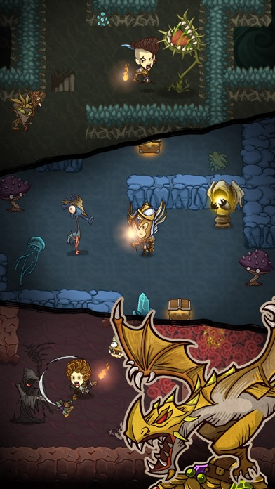 Screenshot for The Greedy Cave in Singapore App Store