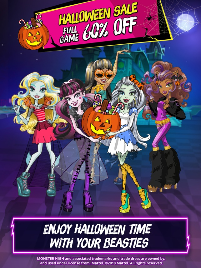 Monster High Beauty Shop On The App Store