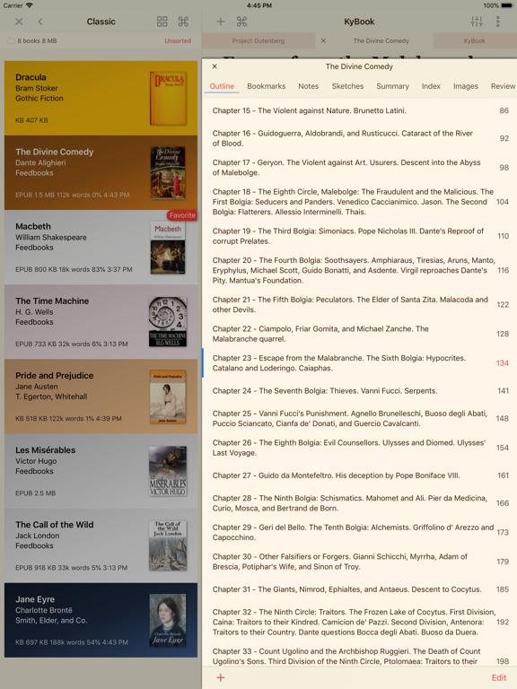 KyBook 3 Ebook Readerのおすすめ画像10