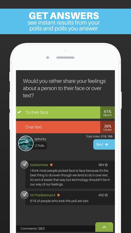 Wonder Polls: Got Questions? screenshot-4