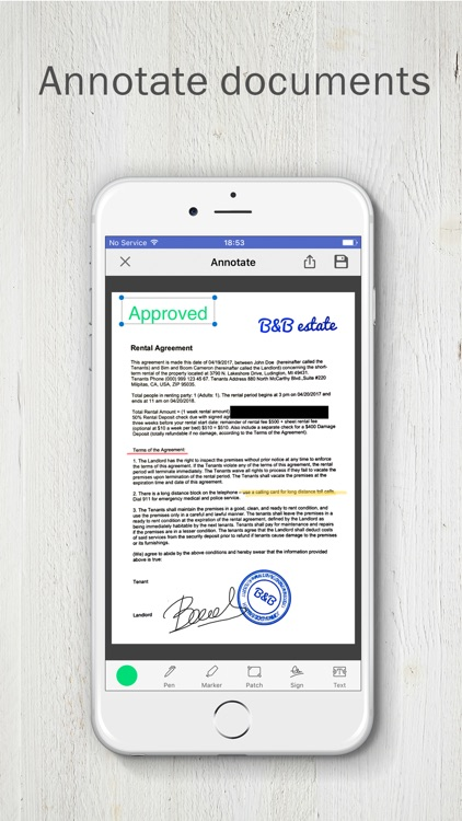 FineScanner PRO - PDF Scanner screenshot-4