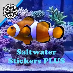 Saltwater Fish Stickers Plus