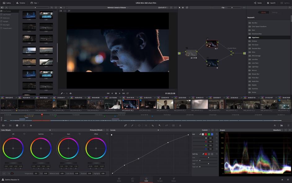 DaVinci Resolve Studio 16 0 – Professional non-linear