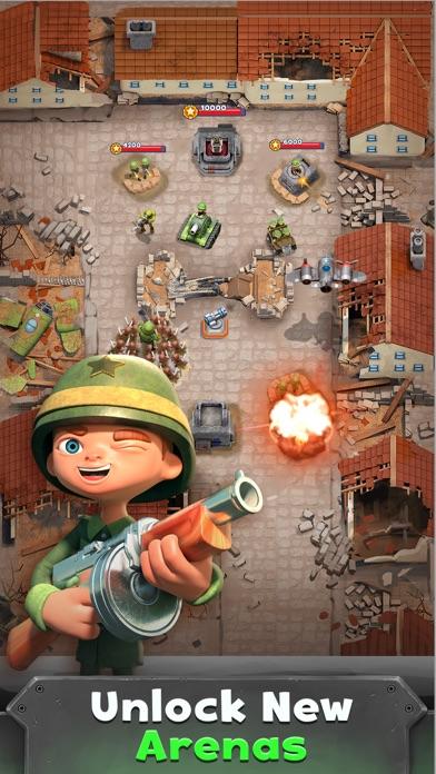 War Heroes Strategy Card Games screenshot 3
