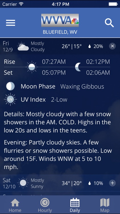 WVVA Weather screenshot-3