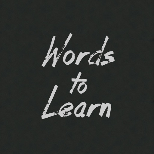 Words To Learn