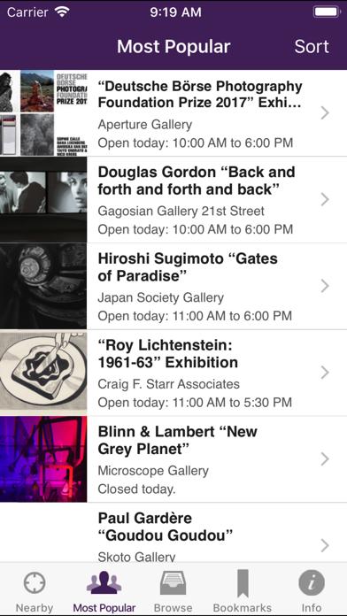 Nyartbeat review screenshots