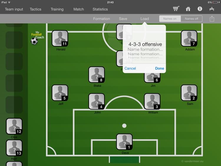 My Football Coach Pro screenshot-3