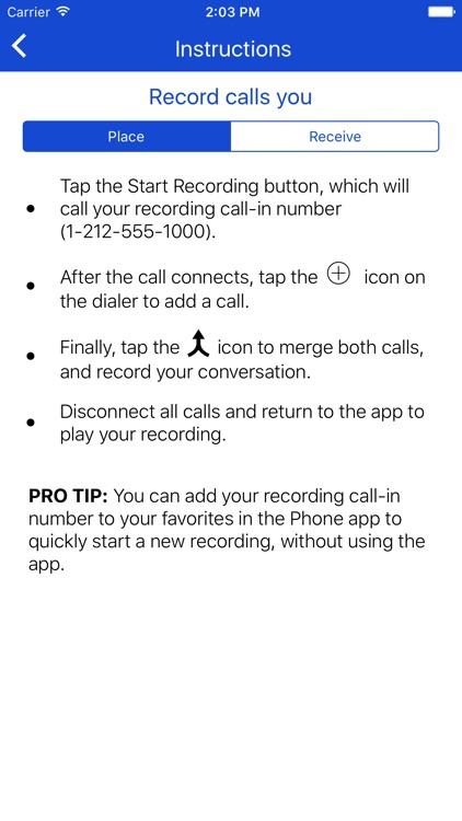 Call Record NOW screenshot-3