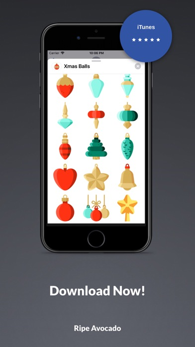 Screenshot for 50 Xmas Balls in United States App Store