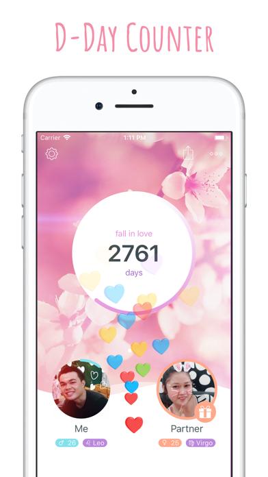 inlove - Love Days Counter screenshot one