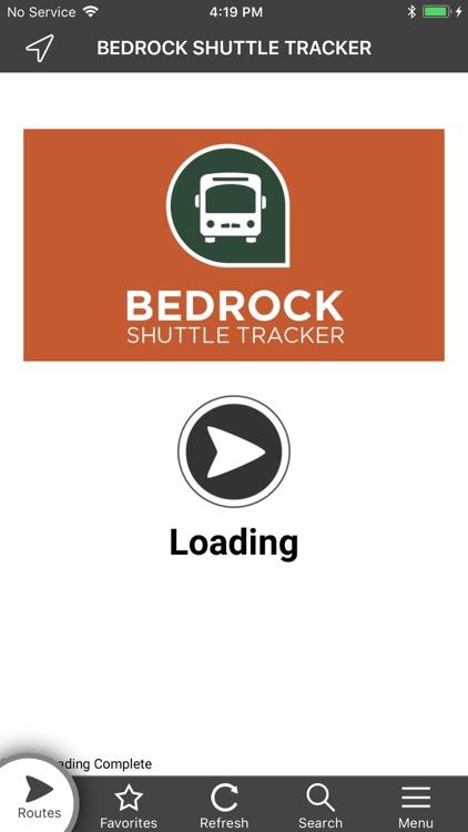 Bedrock Shuttle Tracker