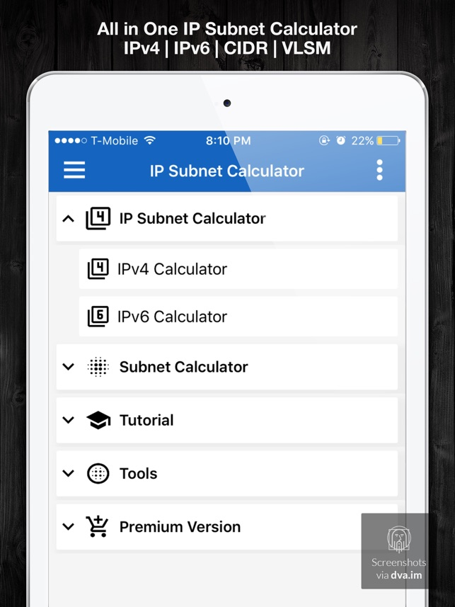 IP & Subnet Calculator on the App Store