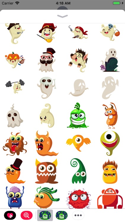 Chamber of Scary Monster Emoji