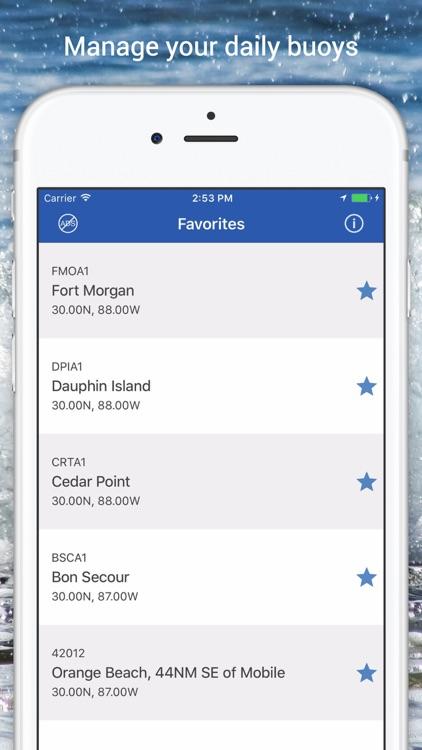 NOAA Buoys Live Marine Weather screenshot-4