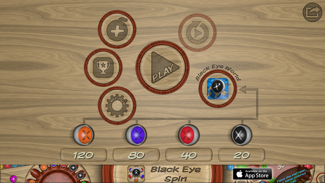 Black Eye Spin On The App Store