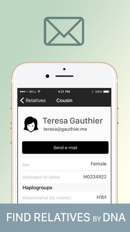 GEDmatch (unofficial app) by Kirill Kudin