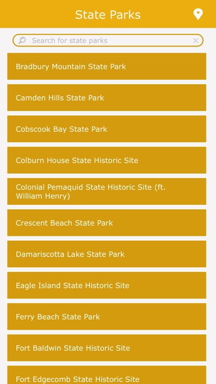 Maine Best State Parks screenshot-1
