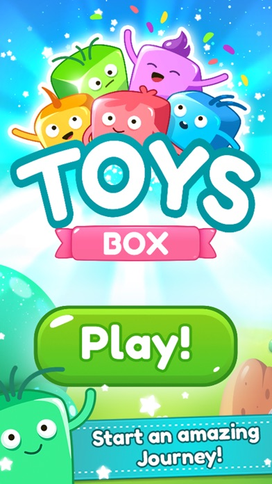 Toys Box - Blast & Pop Cubes