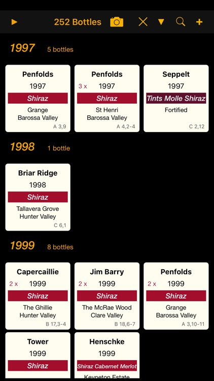 Personal Wine Cellar Database screenshot-4