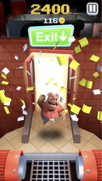 Hog Run - Escape the Butcher screenshot-4