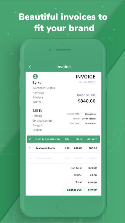 Accounting app - Zoho Books screenshot-5