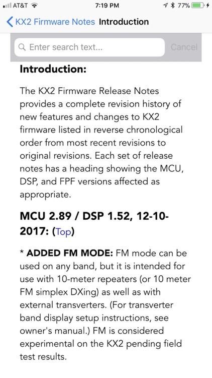 KX2 Micro Manual screenshot-4
