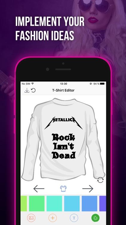 T-Shirt Editor