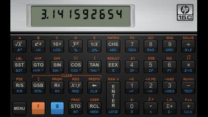HP 15C Calculator Screenshot 1