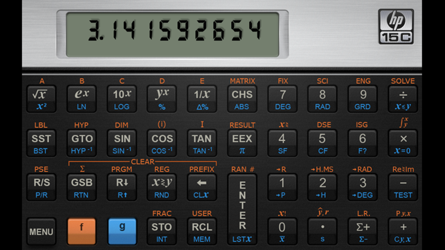 Every maker should have [pt. 40]. An hp-15c, hp-35s or a casio fx.