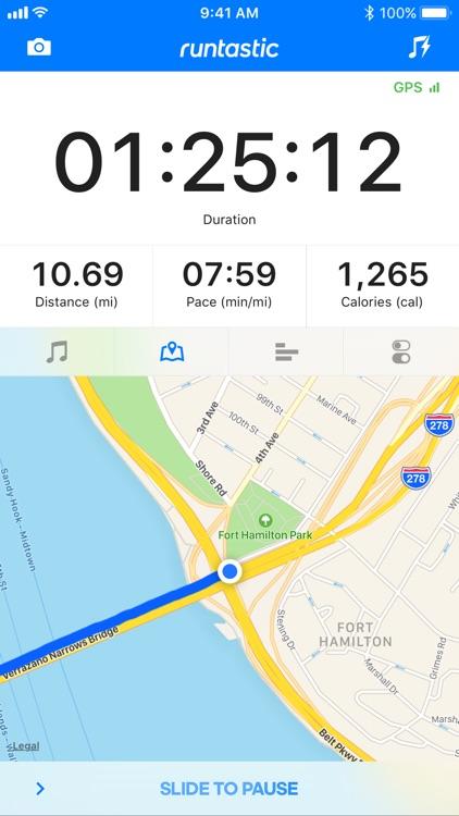 Runtastic GPS Running App screenshot-0