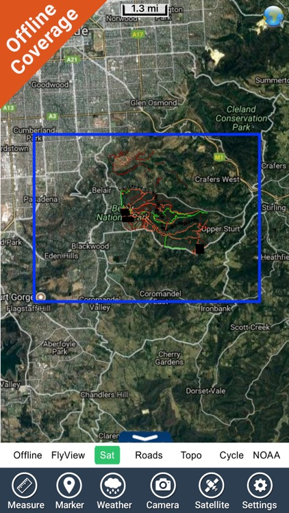 Belair National Park GPS Chart screenshot-4