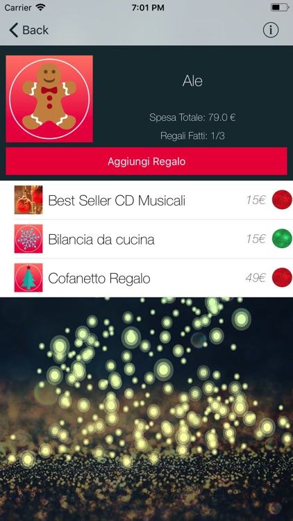 Natale - Lista Regali screenshot-1