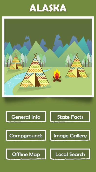 Alaska Campgrounds Offline-1