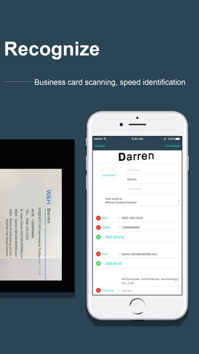Card Scanner -- Foxcard pro Screenshots