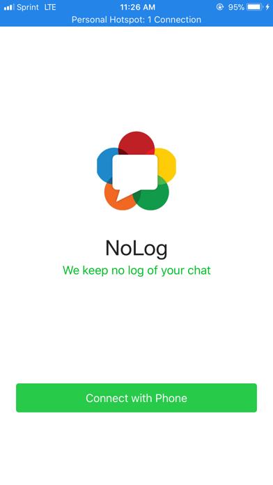 Screenshot for NoLog in Singapore App Store
