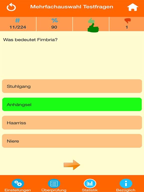 Medizinische Terminologie screenshot 7