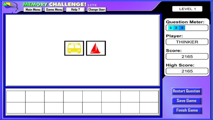 Memory Challenge! (Lite) screenshot-3