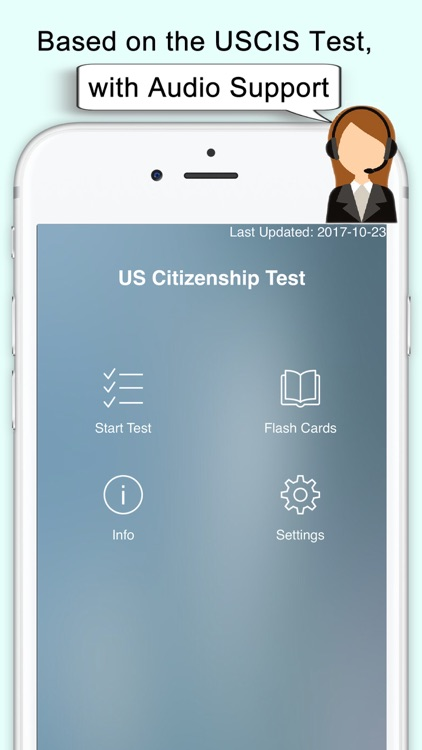 US Citizenship Test (USCIS) screenshot-1